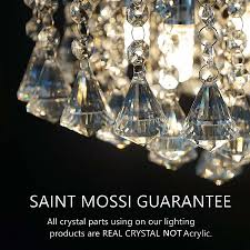 pendant light with crystals awesome saint mossi chandelier modern k9 crystal raindrop chandelier