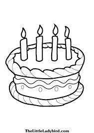 Cake Coloring Cake Coloring E Of Birthday Es Cakes Wedding Sheet
