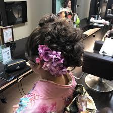 成人式のヘアアレンジ 全体的にボリュームを出した盛り髪スタイルです