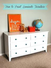 laminate furniture makeover. Paint Laminate Furniture Old Dresser Makeover How To Refinishing Formica W