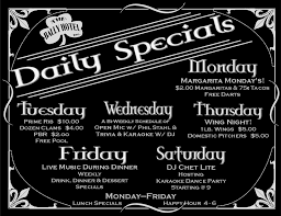 specials menu bally hotel lunch menu daily lunch specials berks county pa