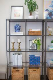 office shelves. Unique Office How To Style Your Office Shelves For N