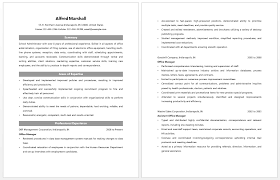 Public Administration Resume Sample Public Administration Resume