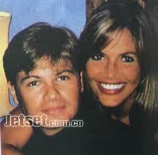 Con su último novio Alejandro Restrepo. Fotos: Archivo Soho/Archivo Particular/Juan Carlos Sierra - 32405_141538_5