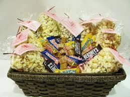 gourmet popcorn gifts basket ideas