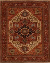 carpet 12 x 15. serapi red hand knotted 12\u00270 carpet 12 x 15