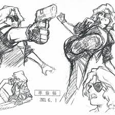 Concept art footage from aborted snake plissken tv series game