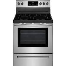 Frigidaire 30 In 53 Cu Ft Electric Range With Self Cleaning Oven