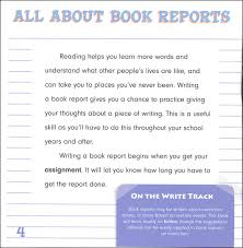 how to write a book report writing book reports write right 040042 details rainbow