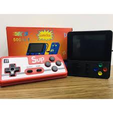 Hàng loại 1] Máy chơi game cầm tay 4 nút Sup 500 in 1 phiên bản 2020 chính  hãng 55,000đ