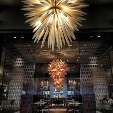exquisite lighting. fairmontpacific hotelvancouver notch8 restaurant fairmontvan exquisite lighting dining hotel d