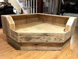 wooden dog bed frame handcrafted corner dog bed wood dog bed by wooden dog bed frame