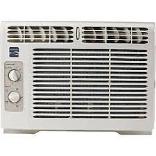 air conditioning window unit. kenmore 87050 5,000 btu 115v window mini-compact air conditioner conditioning unit