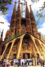 famous modern architecture. Beautiful Modern Famous Modern Architect Antoni Gaudi Church  In Architecture
