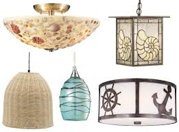 coastal theme ceiling lamps hanging