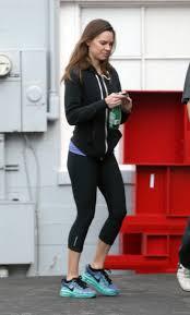 Hillary Swank Swank Booty In Leggings Leaving A Gym In Los Angeles 12 24 2015