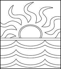 Small Picture Coloring Pages Cute Sunset Coloring Pages Tumblr Inline 500