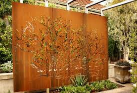 Small Picture Using metal in the landscape for garden walls screens or house