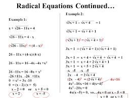 67 solving radical equations x 2 64 1 2 3 4