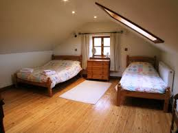 Bedroom:Classy Small Attic Bedroom Ideas For Twin Bedding With Wooden  Drawer And White Rug