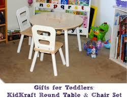 kidkraft round table chair set 2