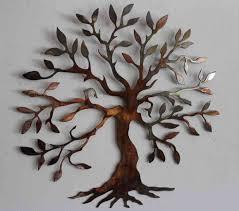 metal tree of life wall art canada