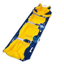 mattress vacuum. optivac vacuum rescue mattress, art.-no. 5027 size: 80 x 210 cm /// weight: approx. 9,0 kg colour: vibrant yellow / blue mattress a