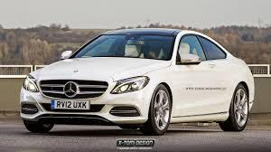 mercedes 2015 c class coupe. Exellent Mercedes 2015 MercedesBenz CClass Coupe And S63 AMG Rendered Intended Mercedes C Class B