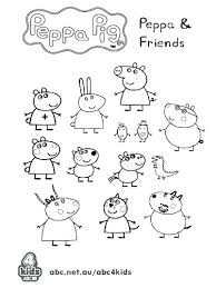 Peppa Pig Coloring Pages Pig Coloring Pages Nick Jr Pig And Friends
