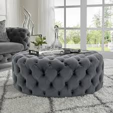 luxury grey oned ottomans square