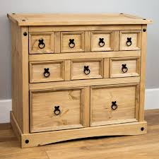 Pine Furniture Bedroom Corona Panama Chest Of Drawers Bedside Bedroom Mexican Solid Pine