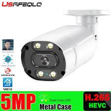 HD 5MP Ai Thông Minh Camera PoE 5MP Có Micro Loa Âm Thanh Camera An Ninh  Ngoài Trời Waterpfoof Tầm Nhìn Ban Đêm Giám Sát Video|Surveillance Cameras