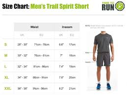 Mens Trail Spirit Running Shorts With Side And Rear Pockets Black
