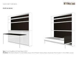 Quick Ship Poppi Book Desk - Resource Furniture