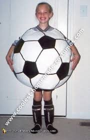 ball costume. soccer ball costume n