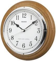 seiko wooden radio controlled atomic