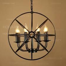 metal orb chandelier awesome metal orb chandelier images