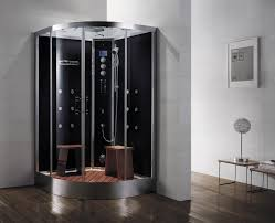 Compact Shower Stall Architecture Modern Bathroom Design With Corner Shower Stalls And