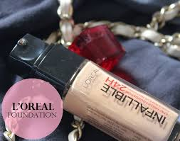 loreal paris 24h infallible reno liquid foundation review