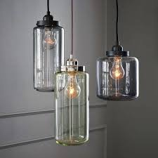 glass jar pendant light glass mason jar pendant light