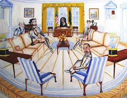 oval office paintings. Oval Office Paintings I