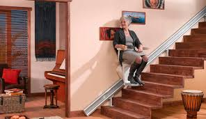Indoor chair stair lift power operated OTOLIFT PARALLEL Otolift