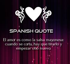 love es in spanish for him