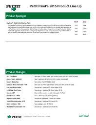Pettit Paints 2015 Product Line Up Pettit Pdf Catalogs