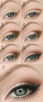 simple how to create natural eye makeup