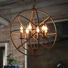 sitting room lights nordic country wrought iron american retro candle chandelier the black chandelier villa