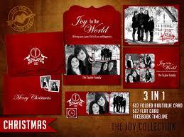 Christmas Card Psd Template Free