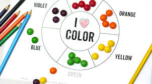 Various color wheels show primary colors, secondary colors and tertiary colors. Printable Color Wheel Mr Printables