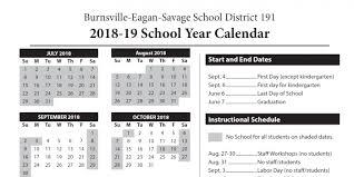 Isd 196 Academic Calendars Set Through 2019 20 Isd 191