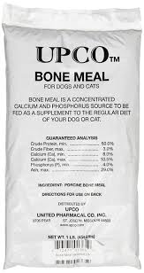 bone meal for dogs. Bone Meal For Dogs E